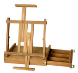 das box table easel