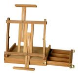 das box table easel